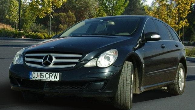 Car Rental Cluj Napoca - Mercedes R320
