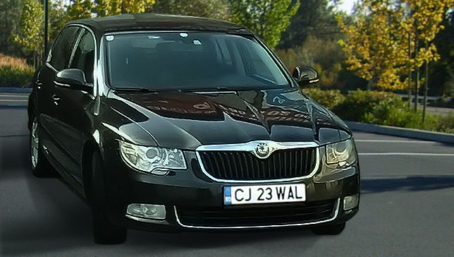 Car Rental Cluj Napoca - Skoda Superb