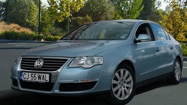 Ela Rent a Car Cluj - Volkswagen Passat